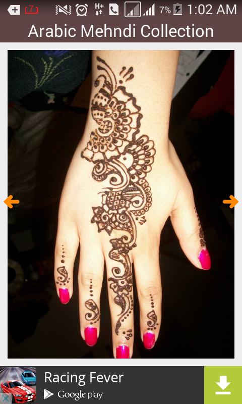 edfdd333e4413 Cool Bridal Mehndi Design 2015 1.1 APK Download - Android Lifestyle Apps