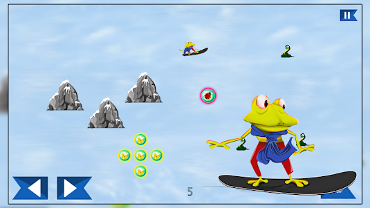Super Froggy Ski : Snow Fun + 1.0 screenshot 9