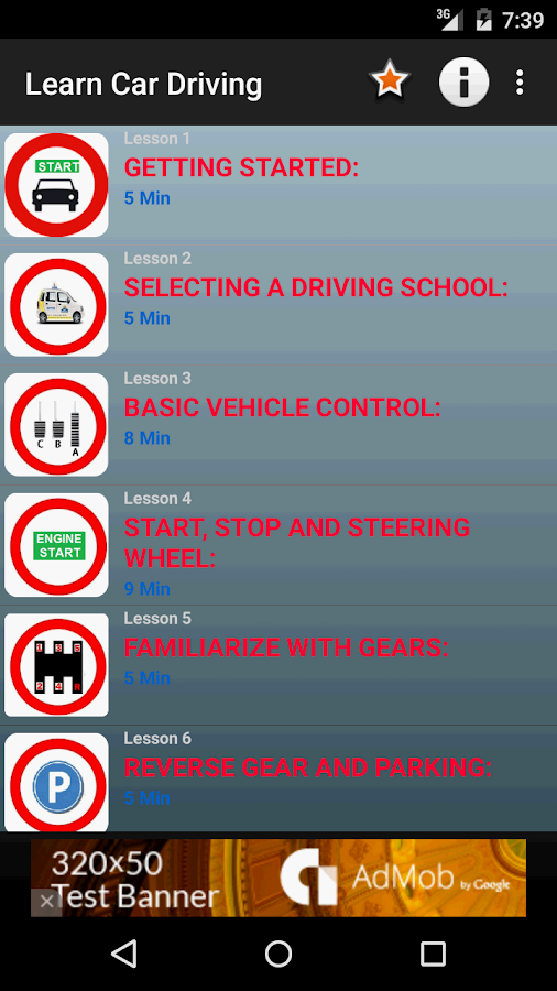 Learning Driving Licence Application लर न ग ड र ईव ग: Learn Car Driving Theory 2.0 APK Download