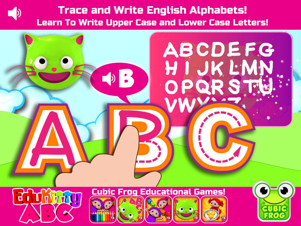 edukitty abc letter tracing 7 0 apk download android