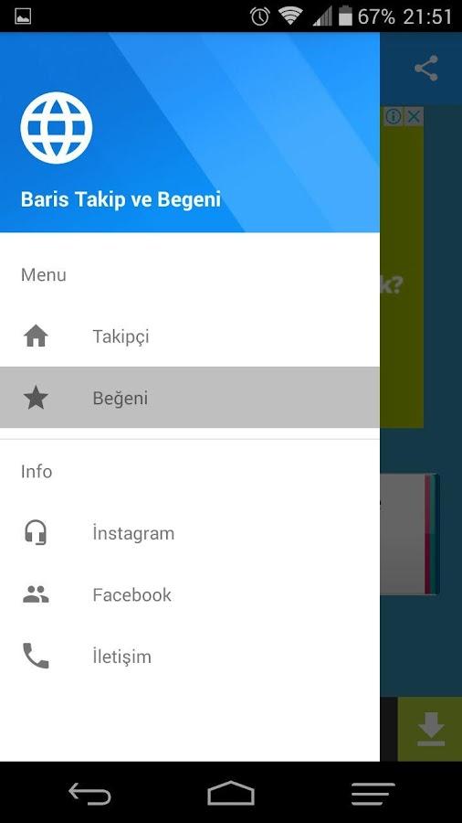 Barış Takipçi ve Beğeni 2.1.0 APK Download - Android Social Apps