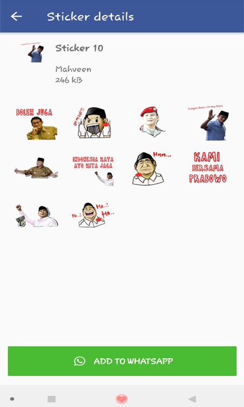 Sticker Prabowo Sandi For Whatsapp 1 0 2 Apk Download