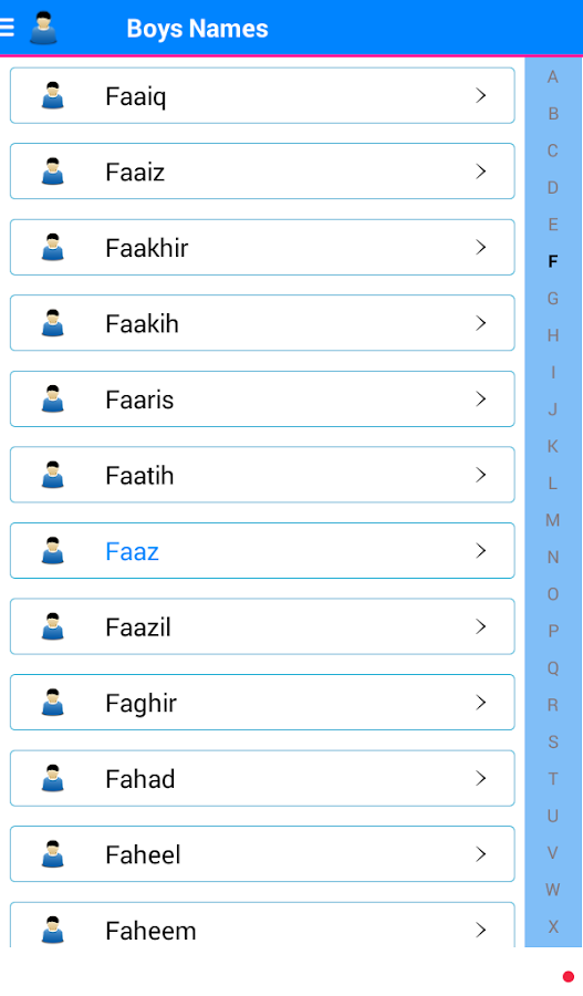 Urdu Islamic Baby Muslim Names 15 Screenshot 12