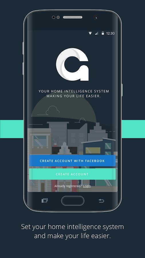 gideon smart home 2 7 7 apk download android lifestyle apps. Black Bedroom Furniture Sets. Home Design Ideas