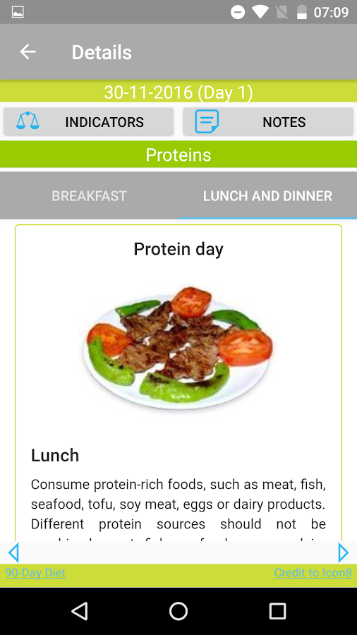 90-Day Diet 2.3 APK Download - Android Health & Fitness Apps