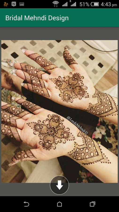 87b5630e13df1 Bridal Mehndi Design 1.2 APK Download - Android Lifestyle Apps