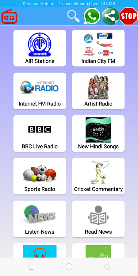 All Indian Radio -AIR News, FM Radio,Cricket Score 4 0 APK Download