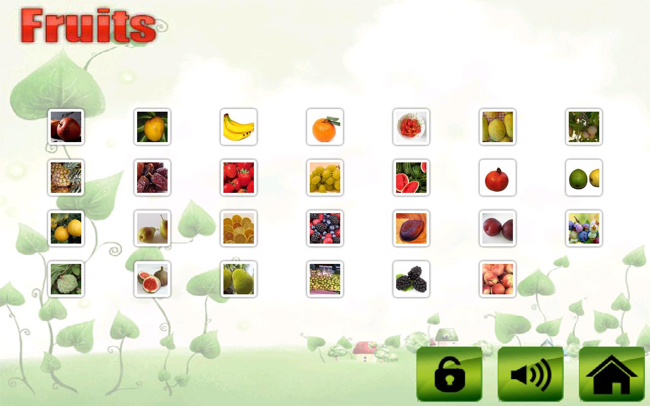 fruit veg shape color for kids apk download android education apps