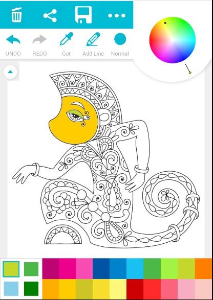 Learning Coloring Game For Kid 41 Screenshot 2