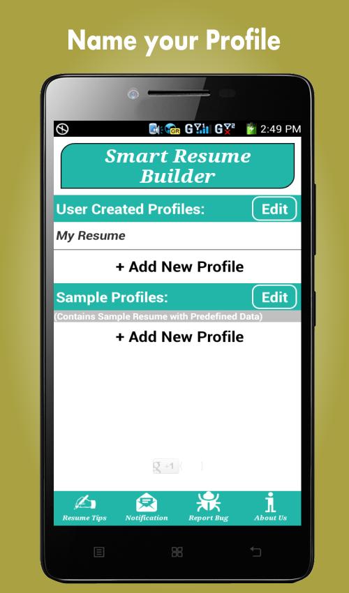 resumebuilder com free