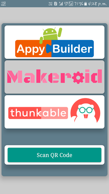 App Downloader 2018(Thunkable,Makeroid,AppyBulder) 1 0 APK