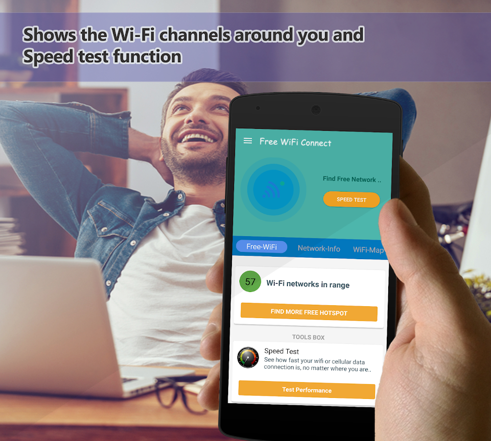Free Wifi Connect Network Map & 4G Share Hotspot 1.0.19 ...