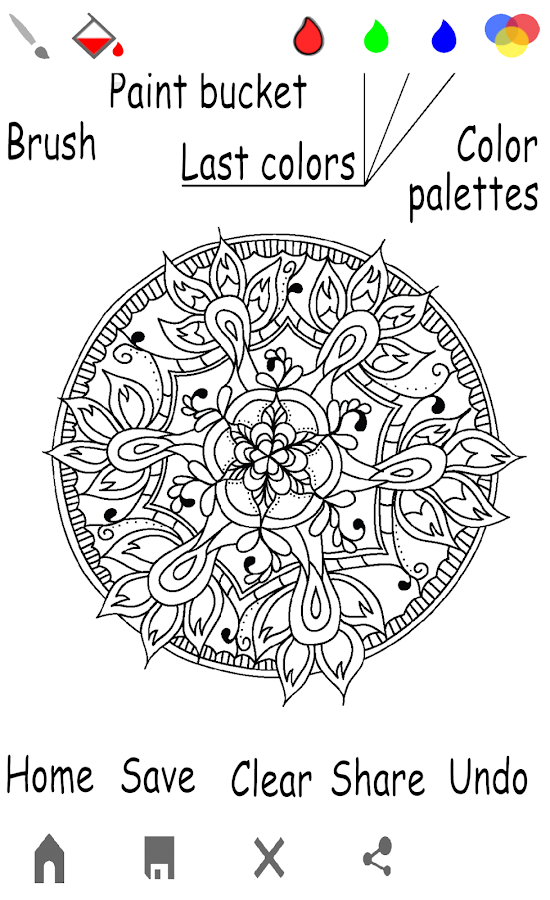 Mandala Coloring Book For Adults 20160912 Screenshot 8