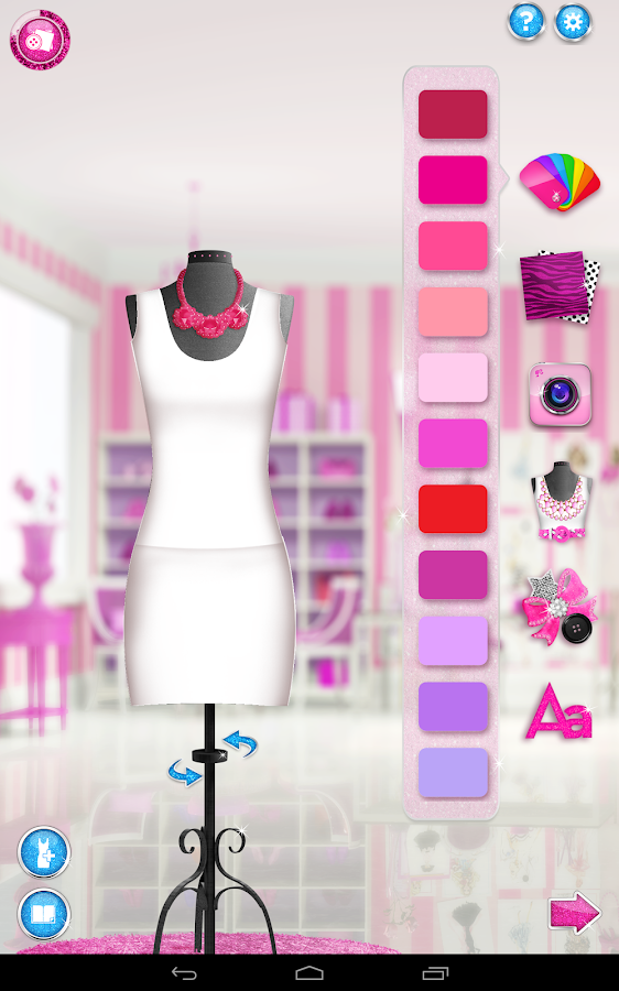 Barbie Fashion Design Maker 1 2 Screenshot 7