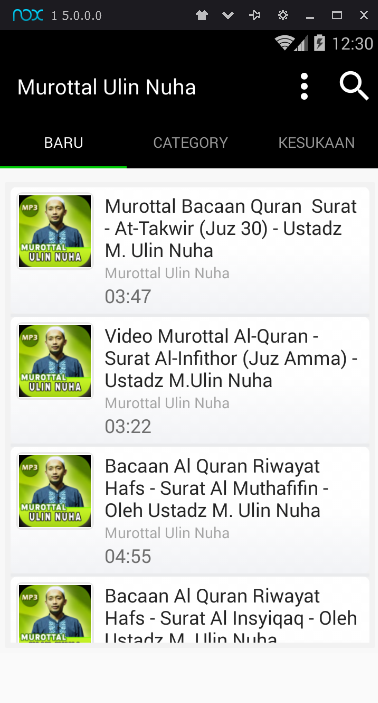 Murottal Ulin Nuha Mp3 11 Apk Download Android Music