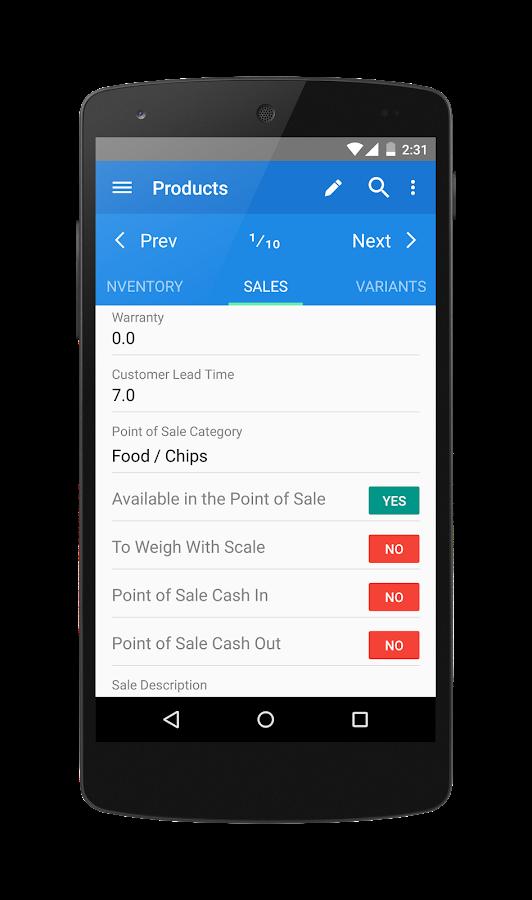 merp odoo mobile 2 4 1 apk download android business apps. Black Bedroom Furniture Sets. Home Design Ideas