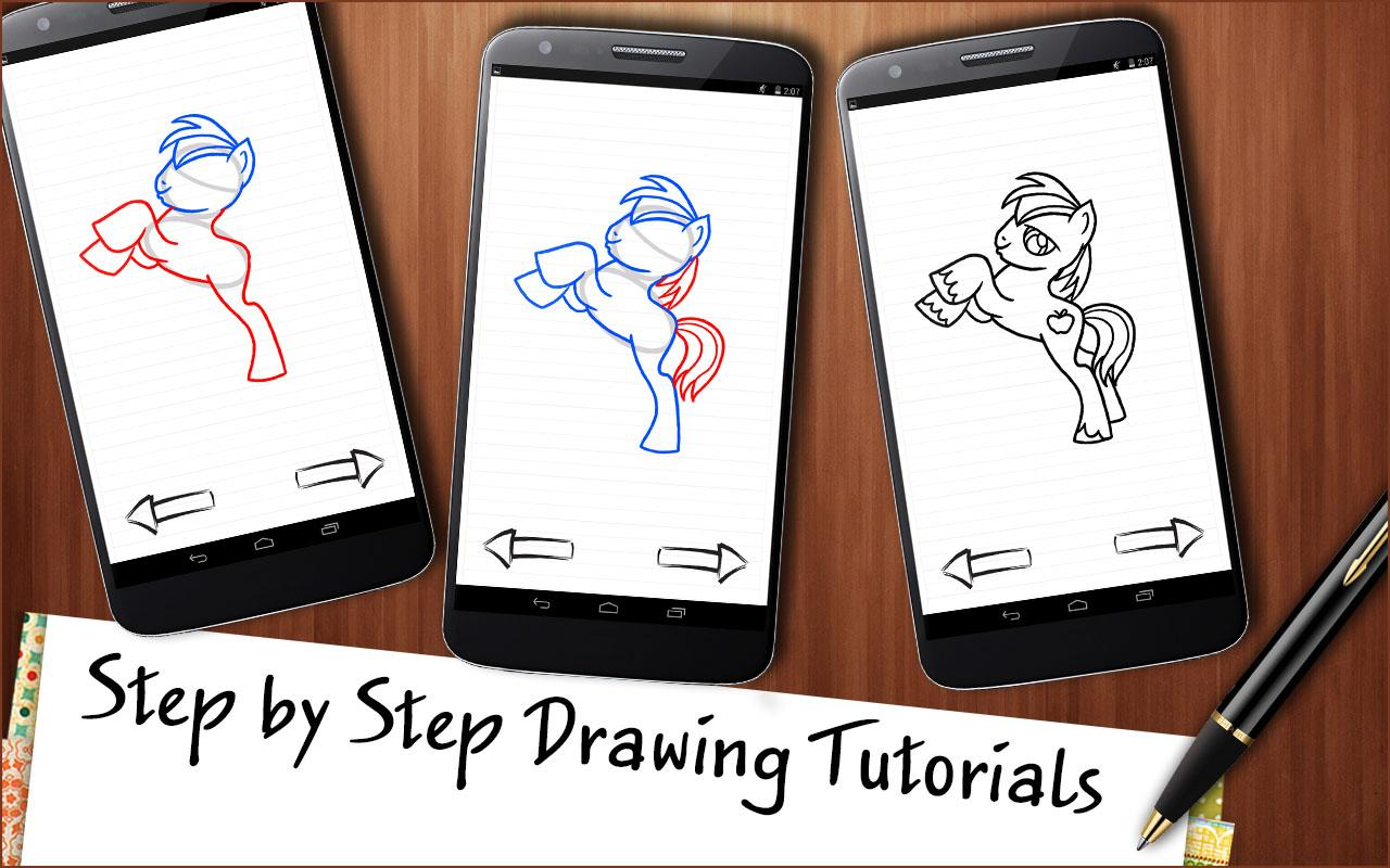 Draw My Little Pony 1 0 APK Download Android Educational Games