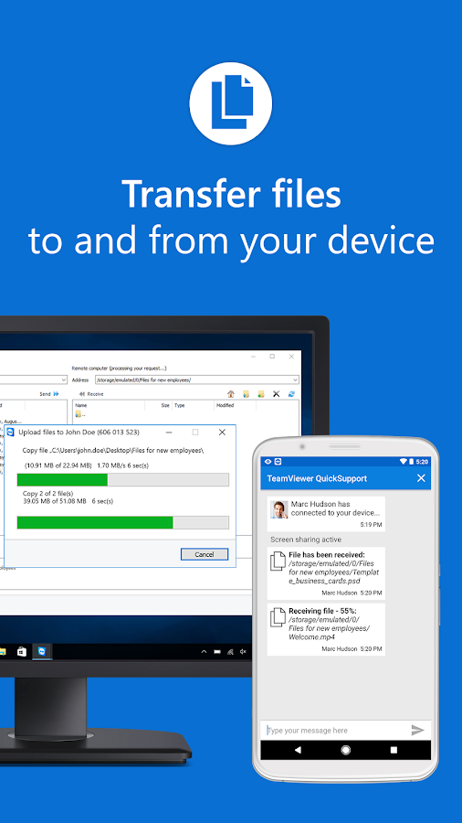 teamviewer quicksupport 13 0 7847 apk download android