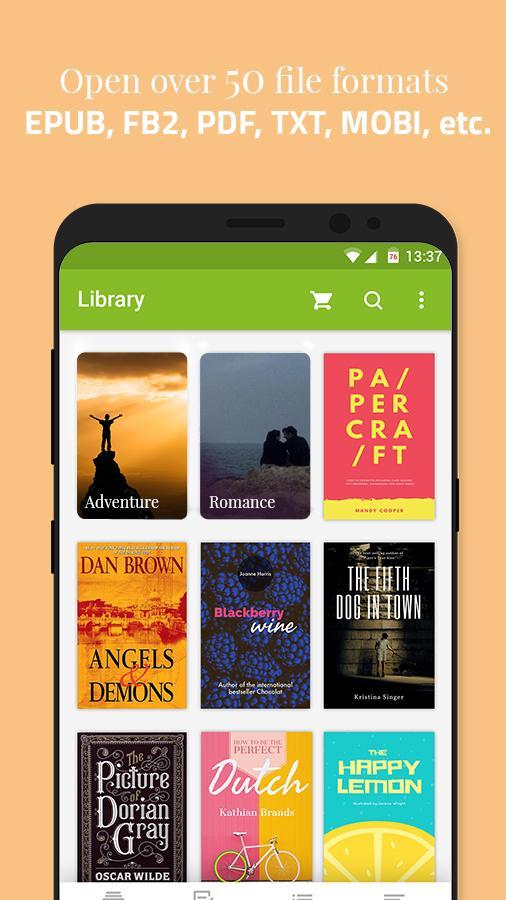 Universal Book Reader 36702 Screenshot 2