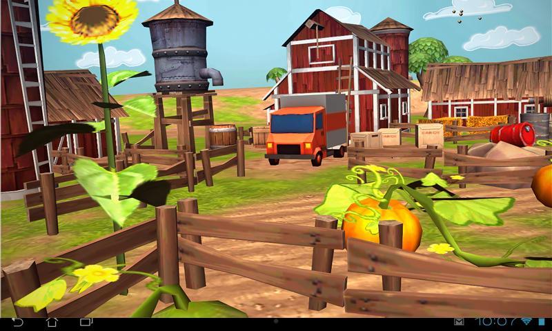 Cartoon Farm 3D Live Wallpaper 1.0 APK Download