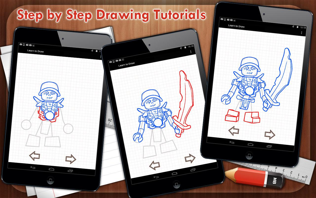 How To Draw Lego Ninjago 15 Screenshot 4