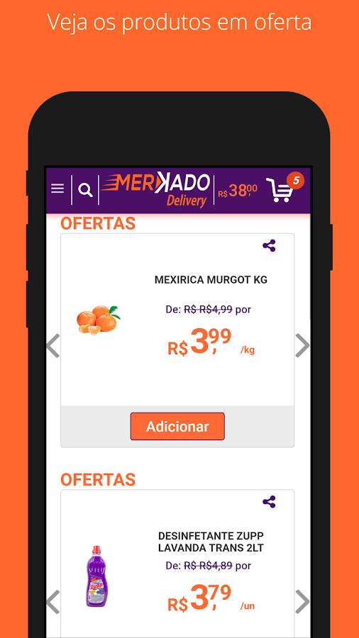 Merkado Delivery - Supermercado Online - Goiânia 1 0 APK Download