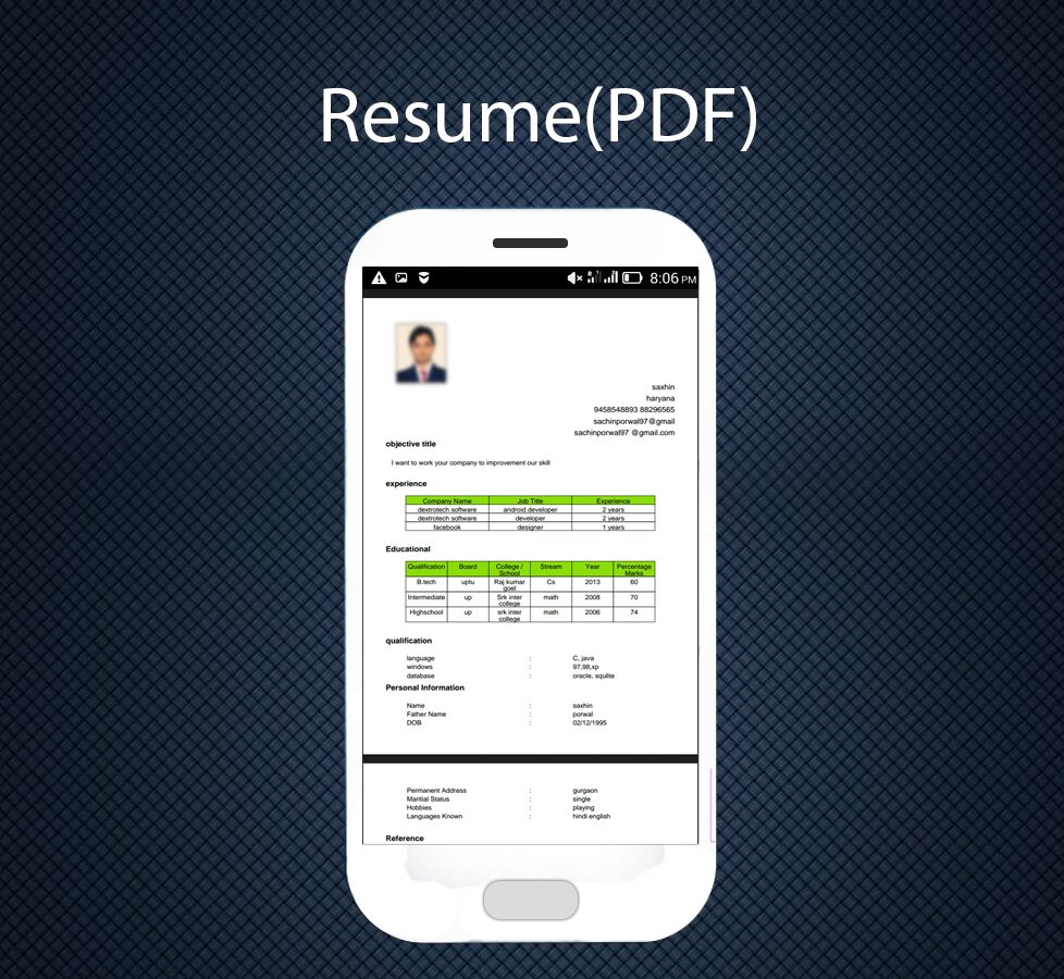 professional resume maker pro 13 screenshot 7