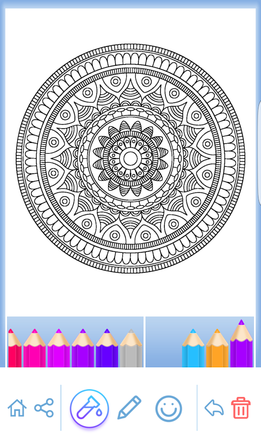 Mandala Coloring For Adults 371 Screenshot 23