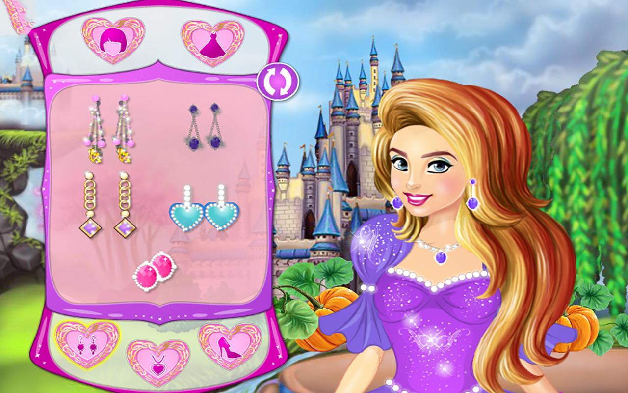 Dress up of cinderella -  Cinderella Dress Up Fairy Tale 1 1 Screenshot 11