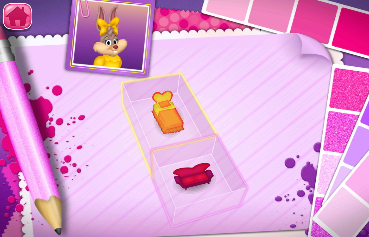 minnie's home makeover 1.0 apk download - android entertainment apps