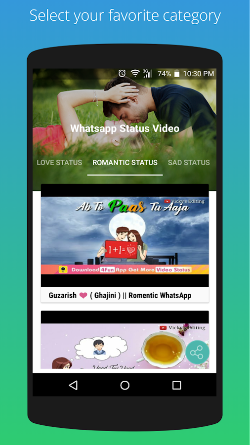 Latest Video Status for Whatsapp 4 0 APK Download - Android