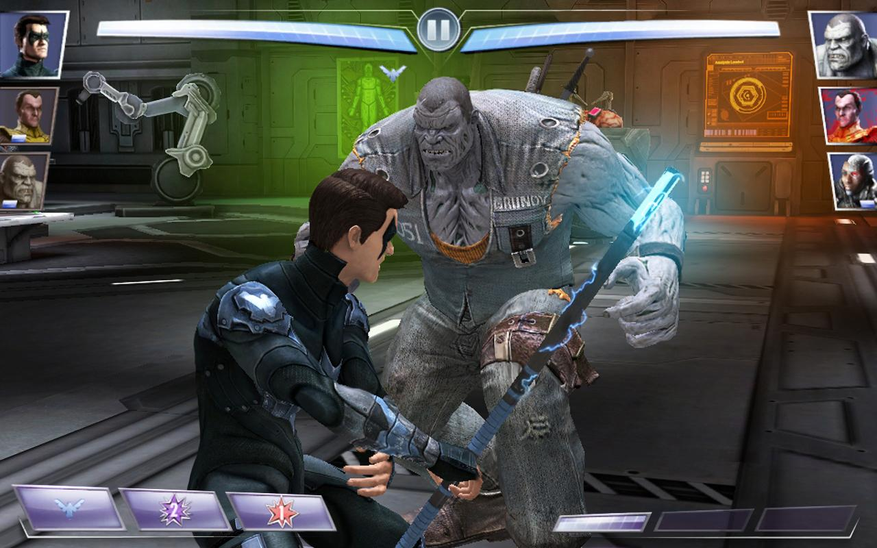 Injustice Gods Among Us APK Download Android Экшен Игры - Injustice god among us buttom map