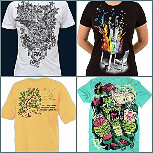 Awesome Design Ideas For T Shirts Pictures - Trend Design 2017 ...