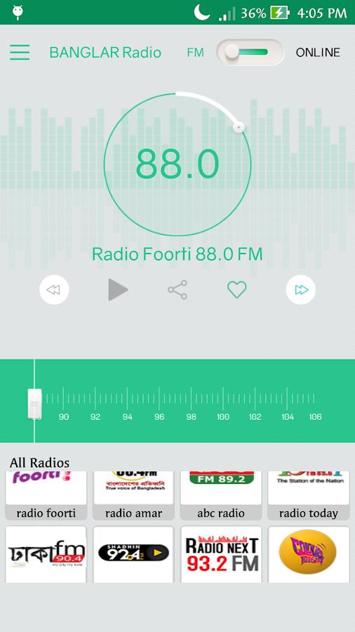 Banglar Radio 1 3 1 APK Download - Android Entertainment Apps