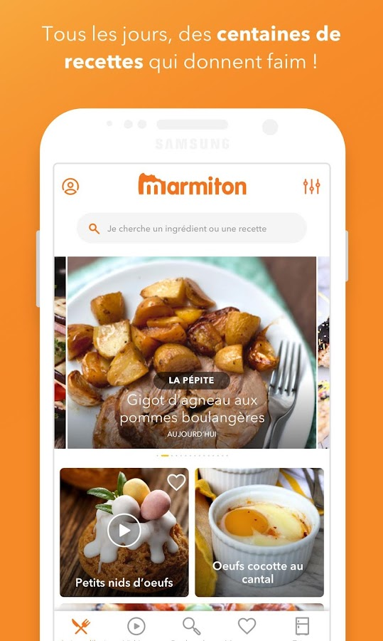 Marmiton : Recettes gourmandes APK Download - Android Lifestyle Apps