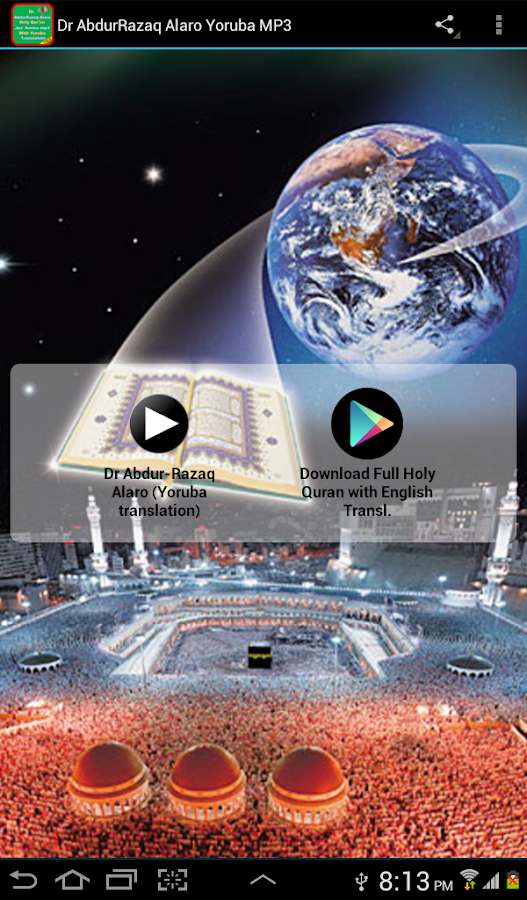 Dr AbdurRazaq Alaro Yoruba MP3 3 APK Download - Android