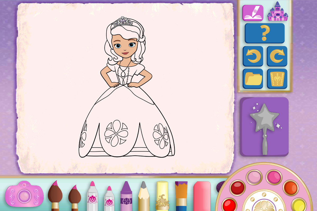 Sofia The First Color And Play 12 Screenshot 16