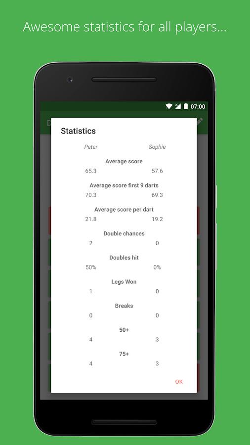 Darts ScoreCard - OLD – Apps bei Google Play