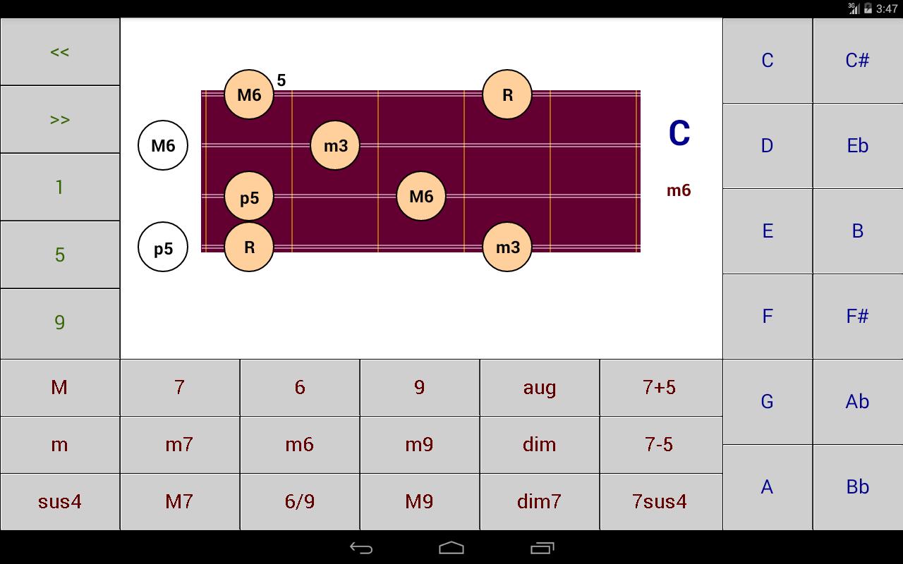Dg mandolin chord patterns 12 apk download android music dg mandolin chord patterns 12 screenshot 4 hexwebz Choice Image