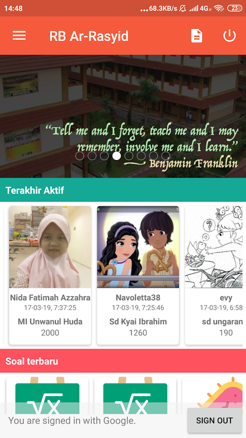 Rumah Belajar Ar Rasyid 070 Apk Download Android