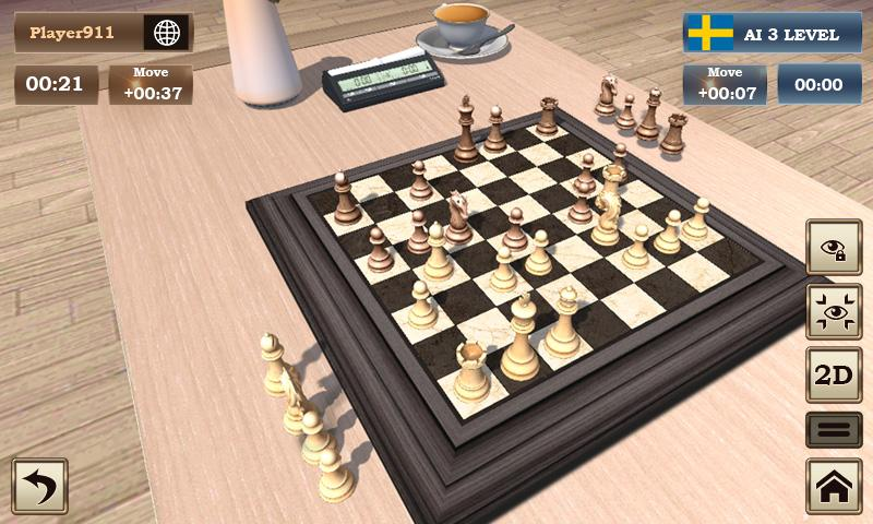 Real Chess Board