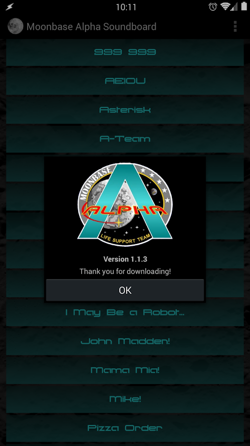 Moonbase Alpha Soundboard 1 1 3 APK Download - Android Entertainment