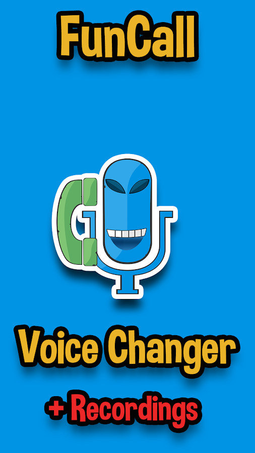 Funcall In Call Voice Changer Amp Call Recordings 4 0 11