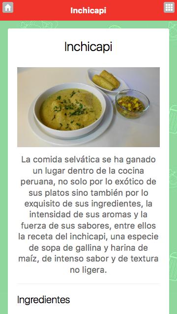 Recetas de cocina peruana 3 0 3 apk download android for Procedimiento de cocina