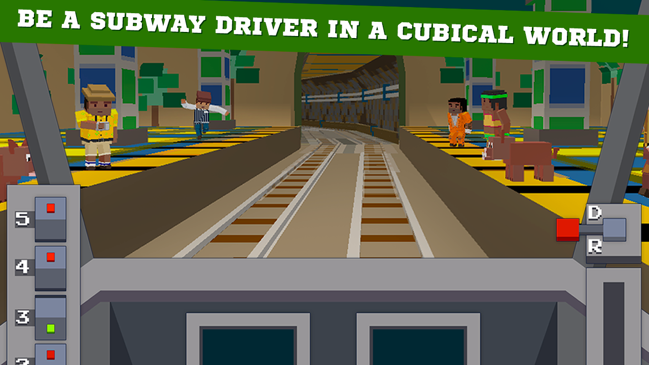 Cube Subway Train Simulator 3D 1 1 APK Download - Android Simulation