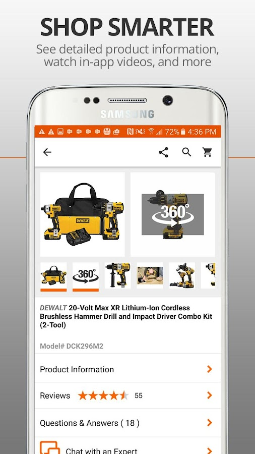 The Home Depot 551 APK Download Android Shopping Apps