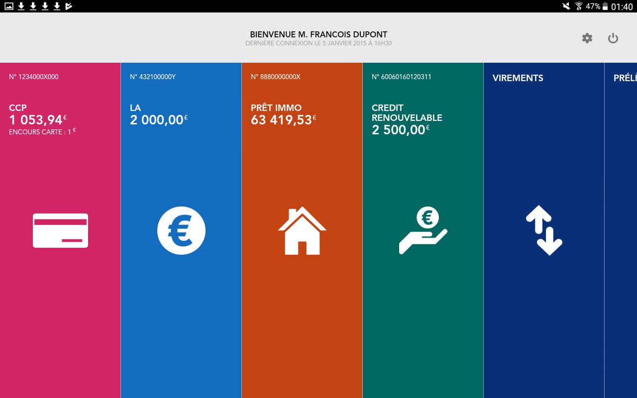 Bien connu La Banque Postale 5.8.0 APK Download - Android Finance Apps NY22