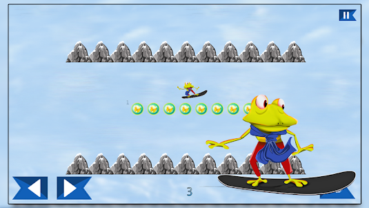Super Froggy Ski : Snow Fun + 1.0 screenshot 8