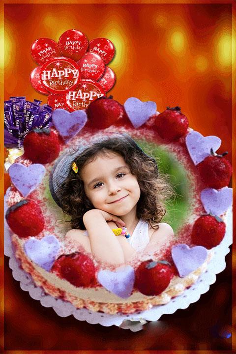 Photo With Birthday Cake 20 Screenshot 3