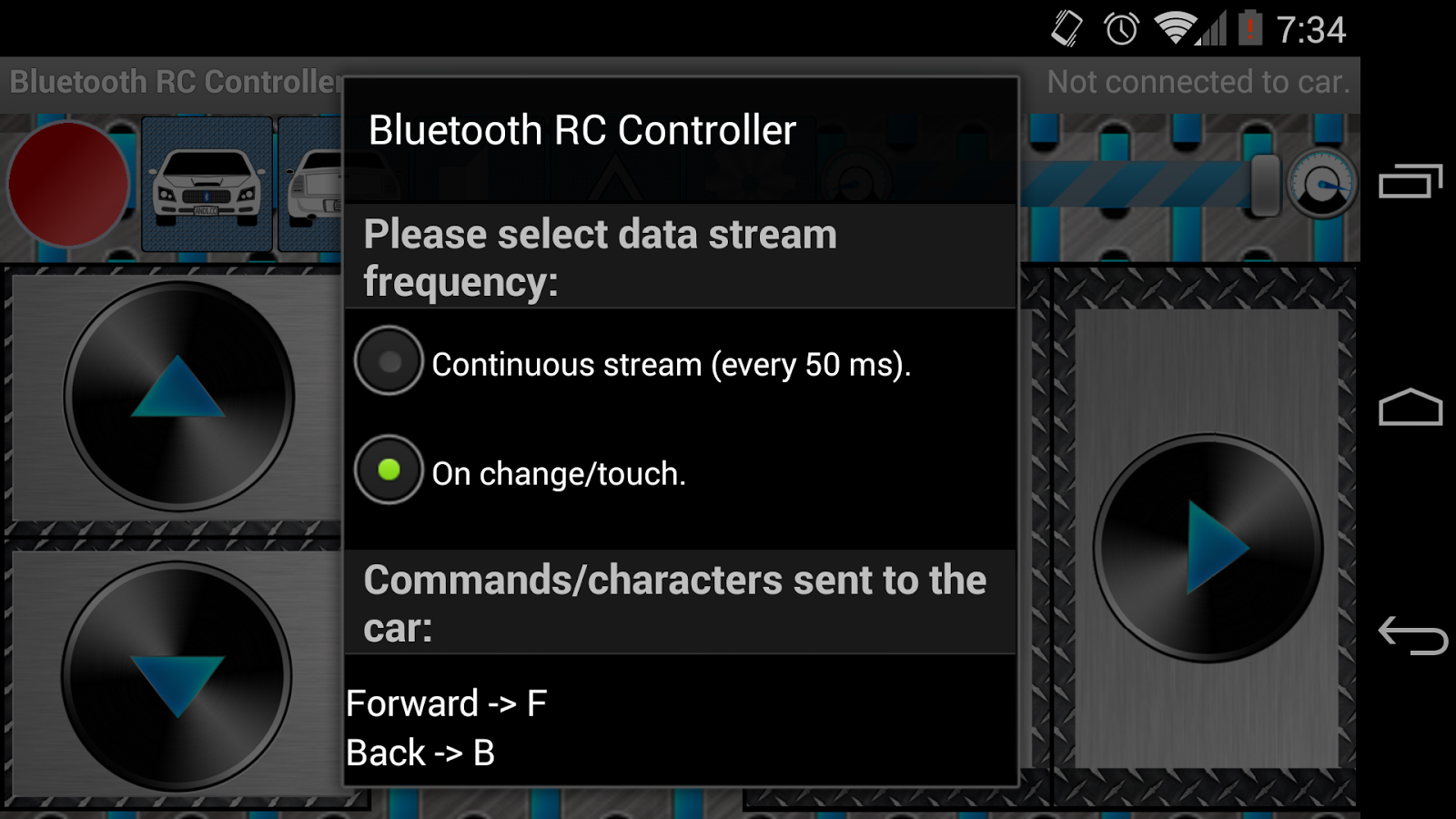 Arduino Bluetooth Rc Car 1 7 Apk Download Android